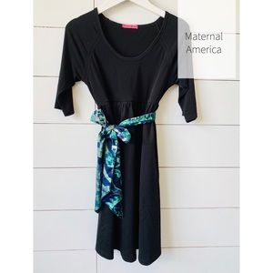 Maternal America Maternity Dress Size Large